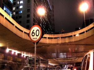 Traffic sign 60 Km/h