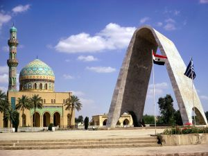 Firdos Square, in Baghdad (Iraq)