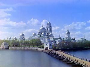 Nilov Monastery, Stolobny Island (Russia)