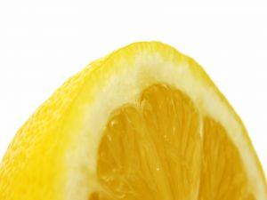 The parts of a lemon