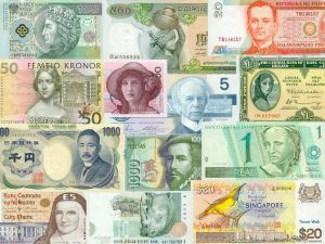 Banknotes from the world