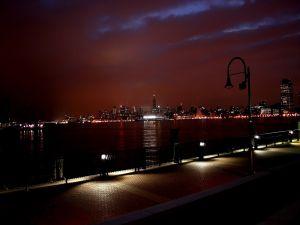 Lights on the promenade