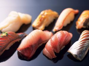 Nigirisushi varied