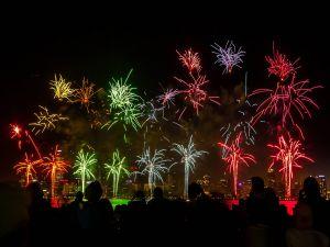Fireworks in Australia