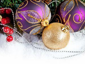 Balls for the Christmas tree