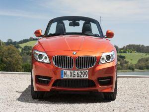 BMW Z4 orange