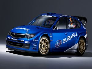 Rally car Subaru Impreza WRC