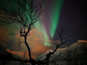 Spectacular aurora borealis