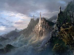 Great fantasy castle
