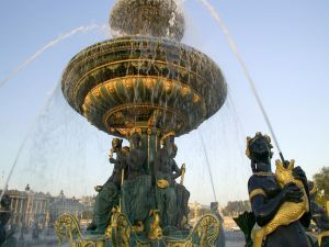 Fountain at the Place de la Concorde (Paris)