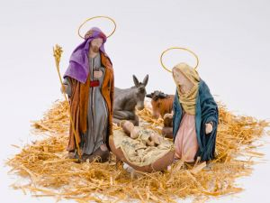 Birth of baby Jesus