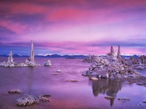 Lake and rocks