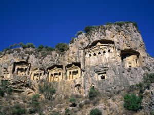 Lycian tombs (Dalyan, Turkey)