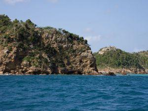 Rocky coast, Antigua