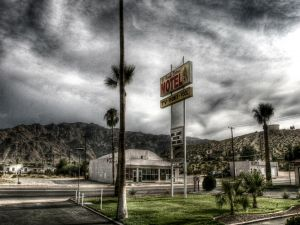 Motel on the road