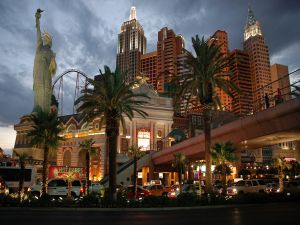 Night in New York-New York Hotel and Casino, Las Vegas