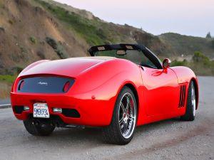 Anteros car with California plates