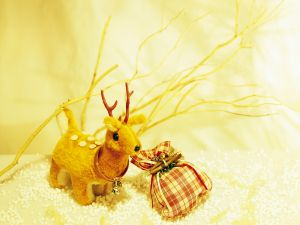 Small Christmas reindeer