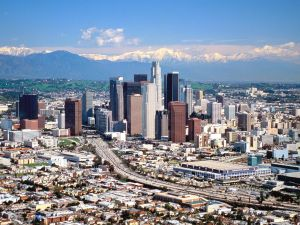 The city of Los Angeles