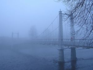 Fog in the bridge