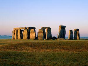 The large stones of Stonehenge, United Kingdom