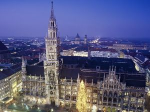 Night and Christmas in Munich