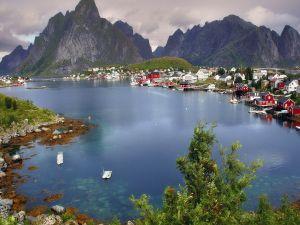 Reine, fishing village in Norway