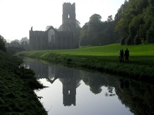 Visit to Fountains Abbey, England