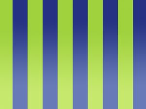 Green and blue stripes