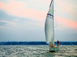 Navigating in boat