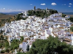 Village of Casares in Malaga (Spain)