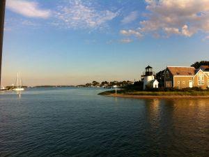 Lighthouse on a bay