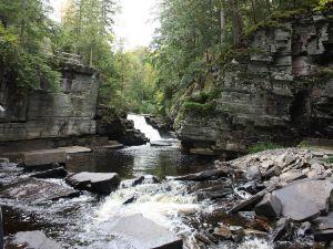Waterfalls in the Upper Peninsula of Michigan