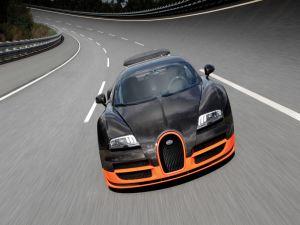Driving a Bugatti