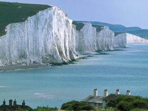Seven Sisters cliff, Sussex (England)