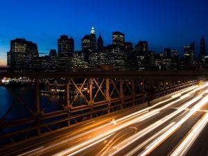 The highway of bridge