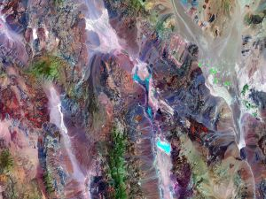 Death Valley National Park, California, USA (satellite view)