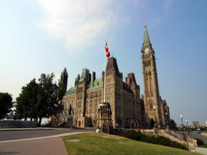 Central Building of the Parliament of Canada