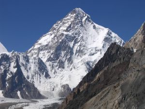 The south face of K2