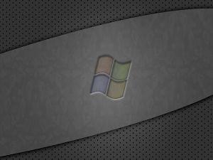 Windows Logo in dark tones