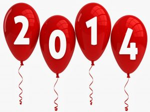 2014 in red balloons
