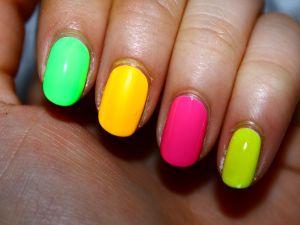 Nail of colors