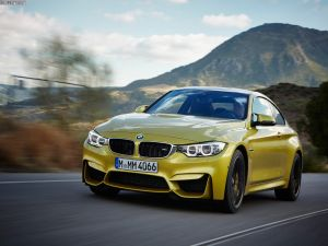 BMW M4 on the road