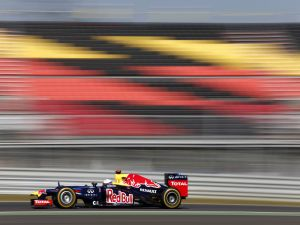 Red Bull in the Korean Grand Prix Formula 1