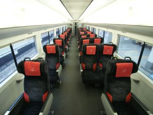 Inside the Narita Express