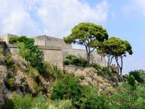 Aragonese Castle near Baia, Campania, Italy