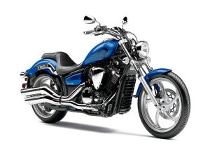 Yamaha Stryker in blue color