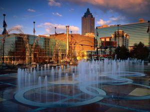 Fountains in Centennial Olympic Park, Atlanta