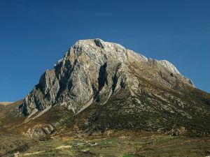 Mountain of the pre-Pyrenees, in Spain