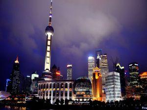 Lights in Shanghai